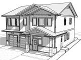 House Sketches Home Plans Easy House Drawings Modern Basic Simple Home Plans
