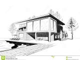 House Sketches Home Plans Excellent Modern Home Architecture Sketches On Home Design