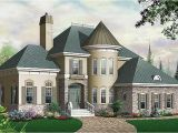 House with Turret Plans Traditional European Victorian House Plans Home Design
