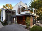 Houzz Modern Homes Plans Harris Back Exterior