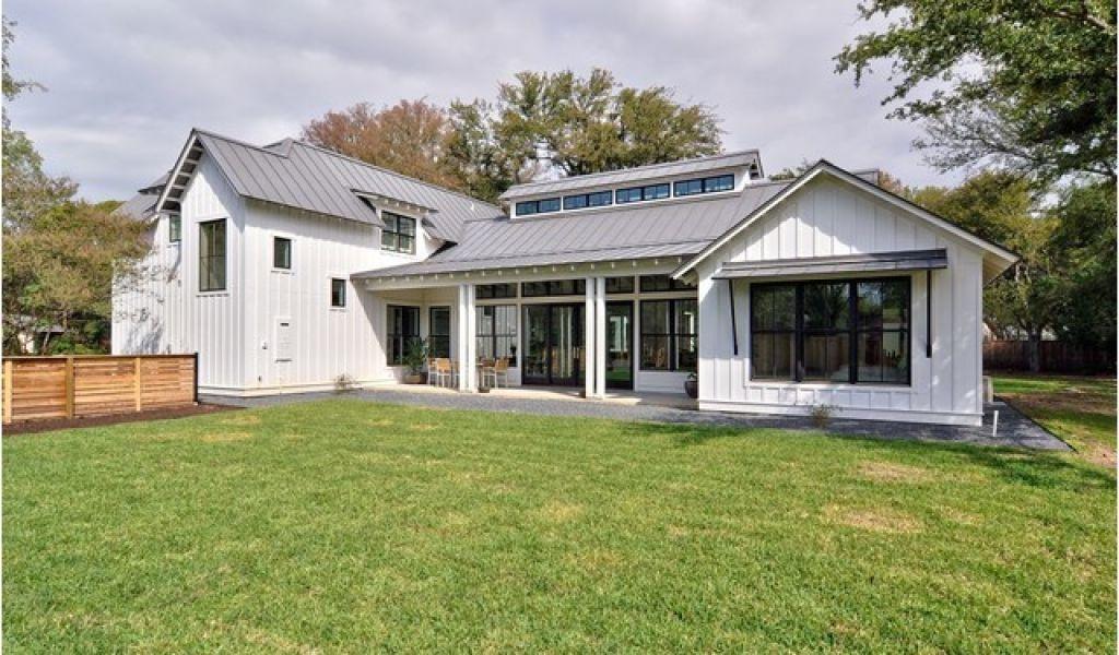 Houzz Small House Plans Modern Farmhouse Farmhouse Exterior Austin