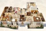 Huge Home Plans 25 Three Bedroom House Apartment Floor Plans