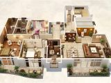 Huge Home Plans 25 Three Bedroom House Apartment Floor Plans
