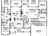 Huge Home Plans First Floor Plan Of the Clarkson House Plan Number 1117
