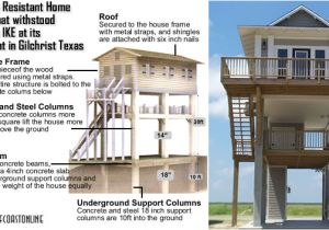 Hurricane Proof Home Plans Hurricane Resistant Homes On the Texas Coast Survive