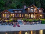 Idaho Home Plans Lake House In Sandpoint Idaho Mountain Architects