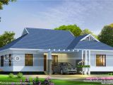 In Ground Homes Plans 4 Bedroom Single Storied Colonial Home Design Kerala