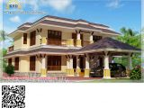 Indian Duplex Home Plans Kerala Style House Architecture 2600 Sq Ft Modern