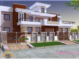 Indian Home Designs and Plans Modern Style India House Plan Kerala Home Design and