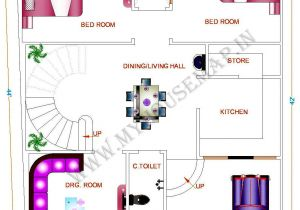 Indian Home Map Plan 1350 Sq Ft House Plan In India Plougonvercom