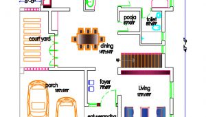 Indian Home Plan for0 Sq Ft south Indian House Plan 2800 Sq Ft Kerala Home Design