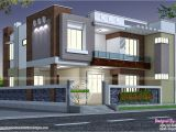 Indian Home Plans and Designs Modern Style Indian Home Kerala Home Design and Floor Plans
