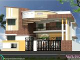 Indian Home Plans with Photos Modern Contemporary south Indian Home Design Kerala Home
