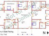 Indian Vastu Home Plans Vastu Homes Vishnu 6 East Facing