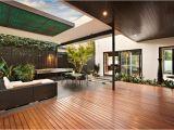 Indoor Outdoor Living Home Plans Indoor Outdoor House Design with Alfresco Terrace Living area