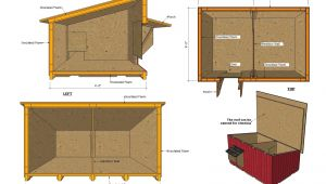 Insulated Dog House Plan Home Garden Plans Dh100 Insulated Dog House Plans Dog