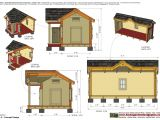 Insulated Dog House Plan Home Garden Plans Dh302 Insulated Dog House Plans Dog