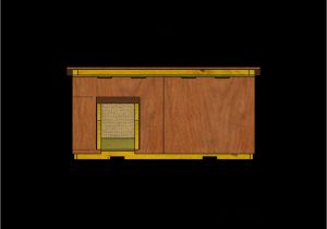 Insulated Heated Dog House Plans Free Dog House Plans for Large Dogs