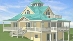 Island Basement House Plans southern Cottages House Plans Sloping Sites