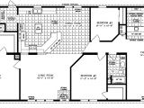 Jacobsen Manufactured Homes Floor Plans the Tnr 2045 Sq Ft Manufactured Home