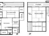 Japanese Home Design Plans House for Rent In tokyo Ichigaya Yakuohjimachi Shinjuku Ku