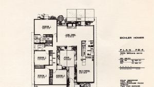 Joseph Eichler Home Plans Dc Hillier 39 S Mcm Daily Joseph Eichler