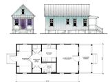 Katrina Home Plan the Katrina Cottage Model 517