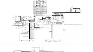 Kaufmann Desert House Plan Kaufmann House Plan Google Search Design Pinterest