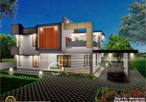 Kerala 3d Home Floor Plans 3d View with Plan Kerala Home Design and Floor Plans