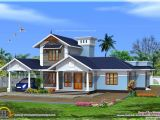 Kerala 3d Home Floor Plans Kerala Model Villa with Open Courtyard Kerala Home