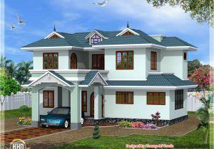 Kerala 3d Home Floor Plans Kerala Style 4 Bedroom Villa Kerala Home Design and