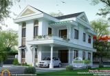 Kerala Dream Home Plans Small Double Floor Dream Home Design Kerala Home Design