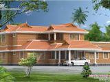 Kerala Home Plans with Photos Kerala Style Traditional Villa with Courtyard Kerala