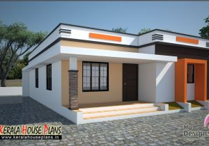 Kerala Homes Plans Low Cost Low Cost House In Kerala 668 Sqft Kerala House Plans
