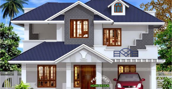 Kerala Style Home Design Plans Kerala Style Villa Exterior Kerala Home Design and Floor