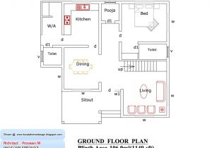 Kerala Style Home Plans and Elevations 1500 Sq Ft House Plans In India Free Download 2 Bedroom
