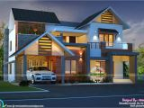 Kerala Style Homes Designs and Plans Cute Night View Kerala Home Design Kerala Home Design