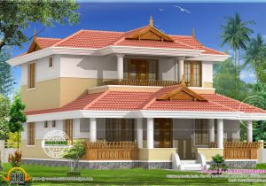 Kerala Traditional Home Plans with Photos Beautiful Traditional Home Elevation Kerala Home Design