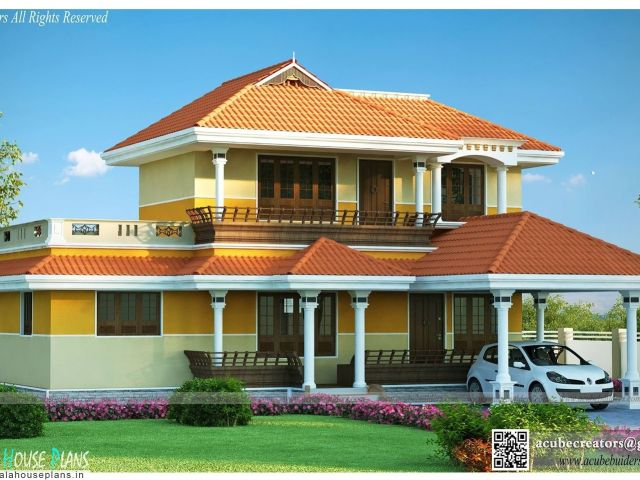 Kerala Traditional Home Plans With Photos Traditional House Plans In
