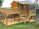 Kids Club House Plans Country Cottage Cubby House Australian Made Backyard