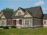 Lake Cottage Home Plans Craftsman Style Lake House Plan with Walkout Basement