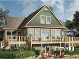 Lake Front Home Plans House Plan W3914a Detail From Drummondhouseplans Com