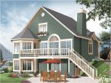 Lake House Plans for Sloping Lots Lake House Plans Cottage House Plans