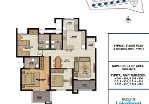 Lakefront Home Floor Plans Brigade Lakefront In Whitefield Bangalore Propertyconekt
