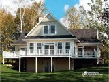 Lakefront Home Plans Luxurious Panoramic Chalet with Great Room Drummond