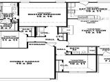 Large 1 Story House Plans 3 Bedroom 2 Bath 46701 3 Bedroom 2 Bath 1 Story House