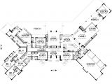 Large 1 Story House Plans Keswick 6774 5 Bedrooms and 5 Baths the House Designers