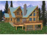 Large A Frame House Plans Freeland Creek A Frame Log Home Plan 088d 0002 House