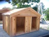 Large Breed Dog House Plans Dog House Plans for Two Large Dogs Escortsea