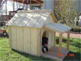 Large Dog House Plans with Porch Insulated Dog House Woodbin